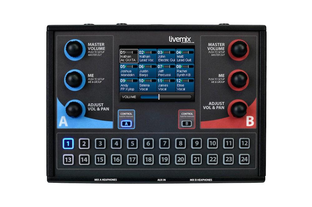 Personal Monitor 24 Canais De Uso Individual E Simultâneo Para 2 Músicos - Cs-Duo - Livemix