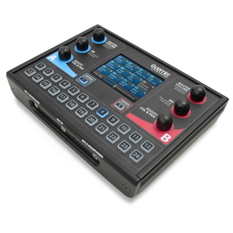 Sistema Personal Monitor Para 8 Músicos Conexão Digital Protocolo DANTE® - Lm-Digital-Sk1 - Livemix