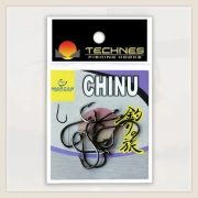 ANZOL CHINU BLACK TECHNES - C/ 10 UNID
