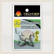 ANZOL COM MOLA MARUSEIGO BLACK TECHNES - C/ 04 UNID