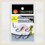 ANZOL COM MOLA MARUSEIGO NICKEL TECHNES - C/ 04 UNID
