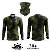 Conjunto Camiseta e Bandana By Aventura Robalo 1800