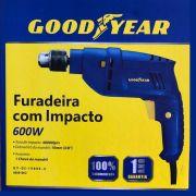 Furadeira Goodyear 600w 3/8 220 v