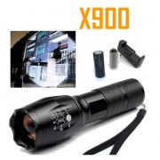 Lanterna Tática Militar Recarregável X900