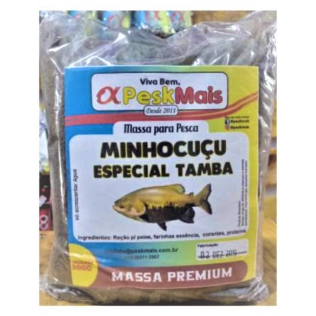 Massa Para Pesca PeskMais Minhocucu - 500 gr