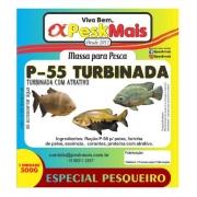 Massa Para Pesca PeskMais P55 Turbinada - 500 gr