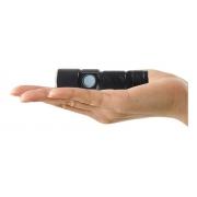 Mini Lanterna Tática Led Usb Recarregável Bateria Interna