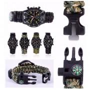 Relógio Bracelete De Sobrevivência Luatek