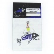 Suporte Hook 1/0 Simples - Bravos - (2 unidades)
