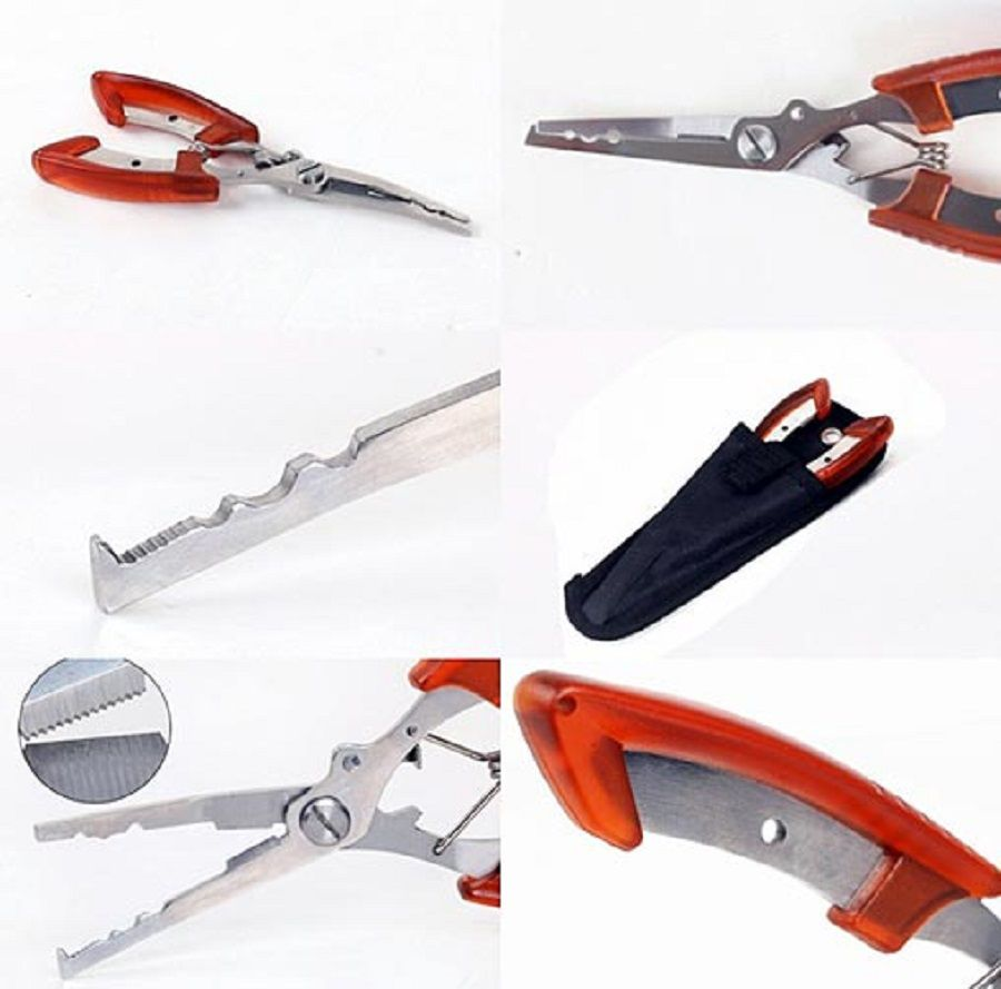 Alicate Multifuncional Scissors Piliers Sun Fishing
