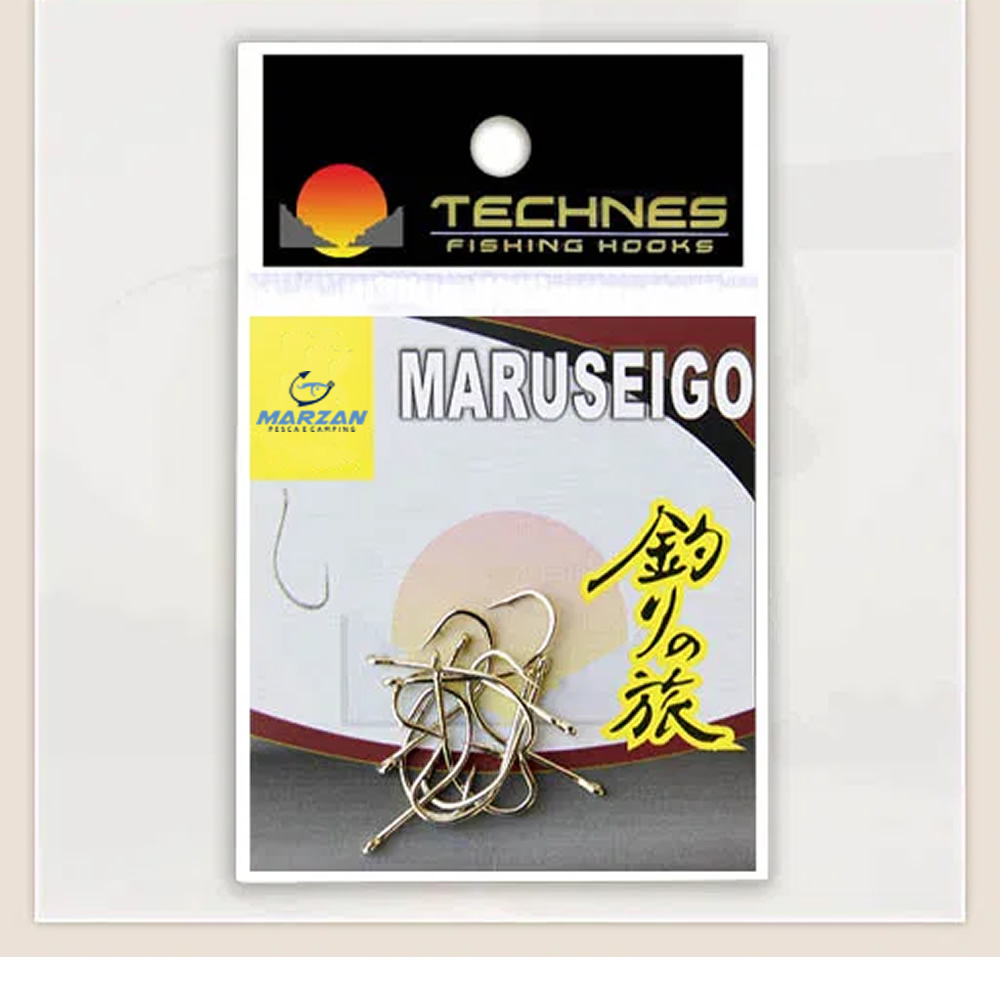 ANZOL MARUSEIGO NICKEL TECHNES - C/ 10 UNID