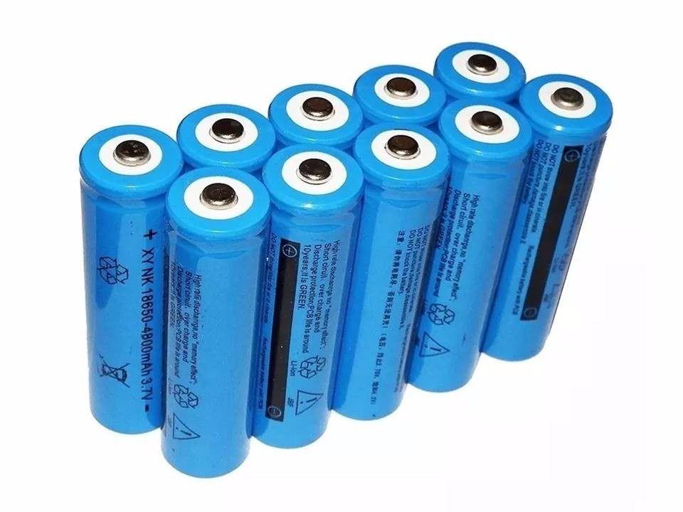 Bateria de Litio para Lanterna Tatica