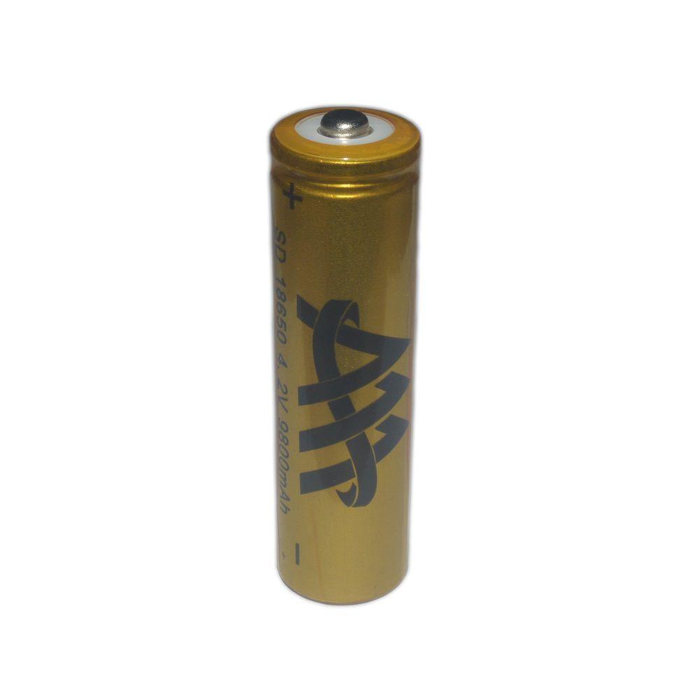 Bateria de Lítio para Lanterna Tática