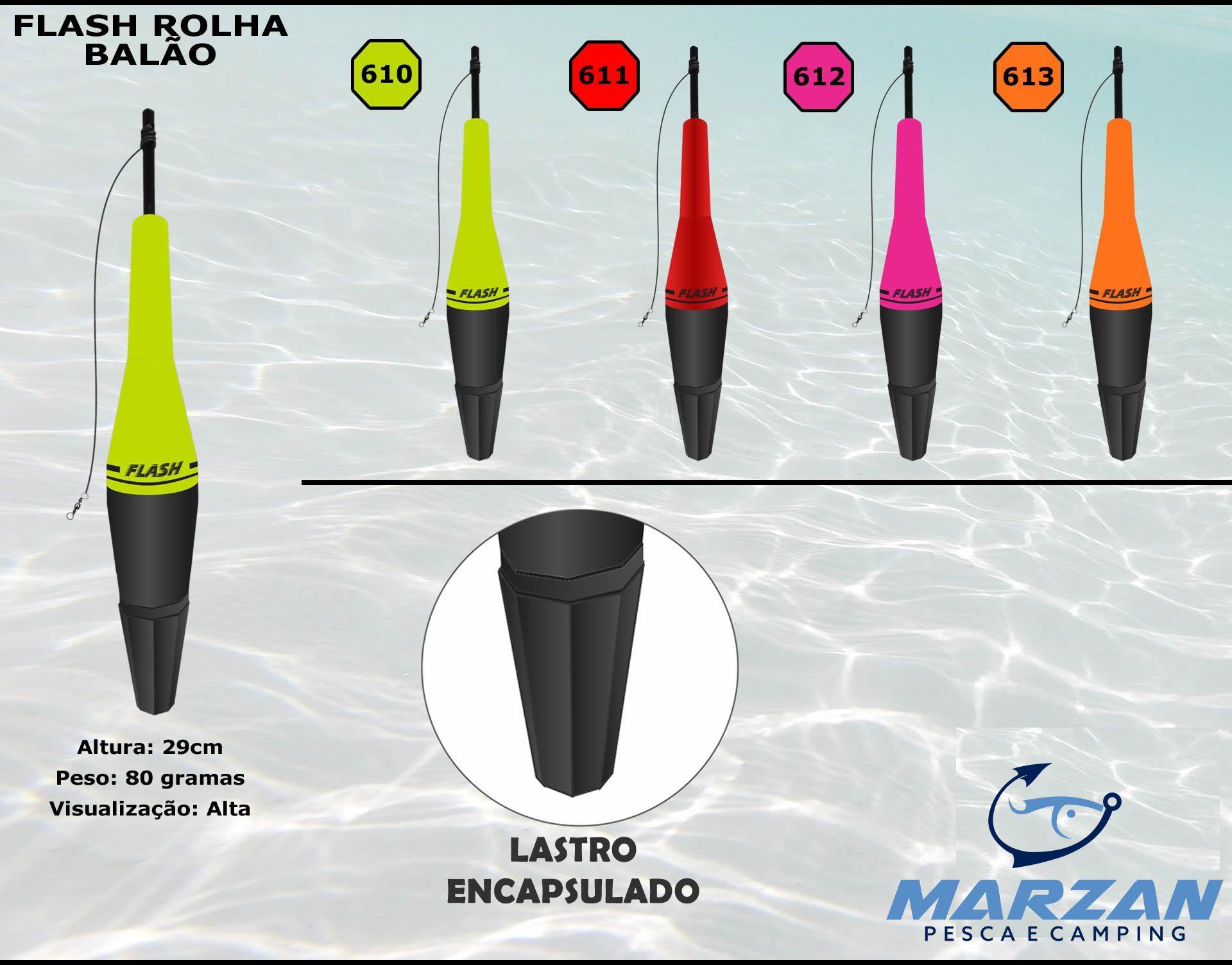 Boia Ecológica Torpedo Flash