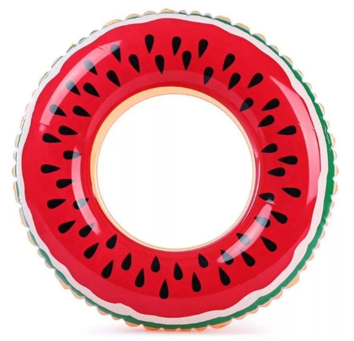 Boia Inflável de Cintura Melancia 60 cm