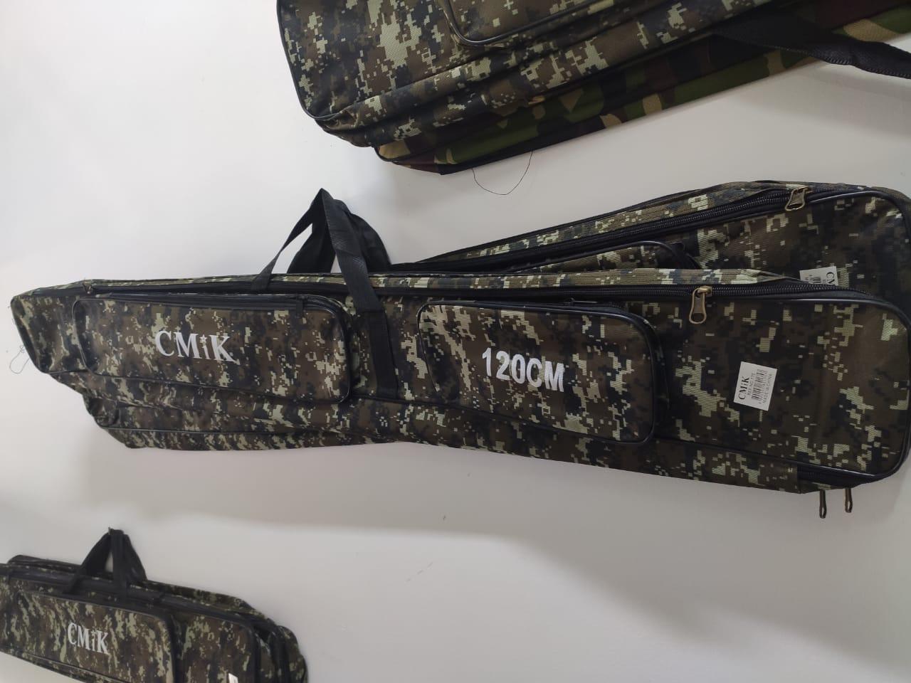 Bolsa De Pesca Porta Varas Camuflada 130 cm