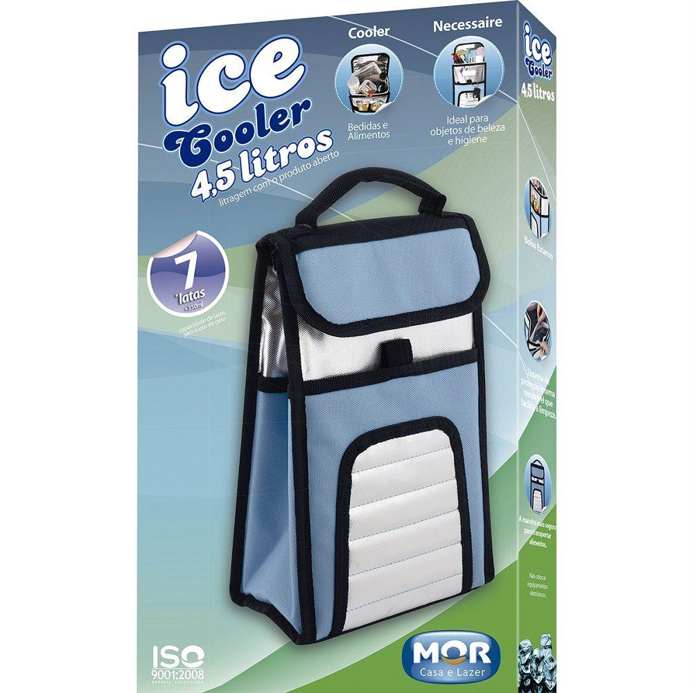 Bolsa Térmica Ice Cooler 4,5 Litros Com Alça Mor