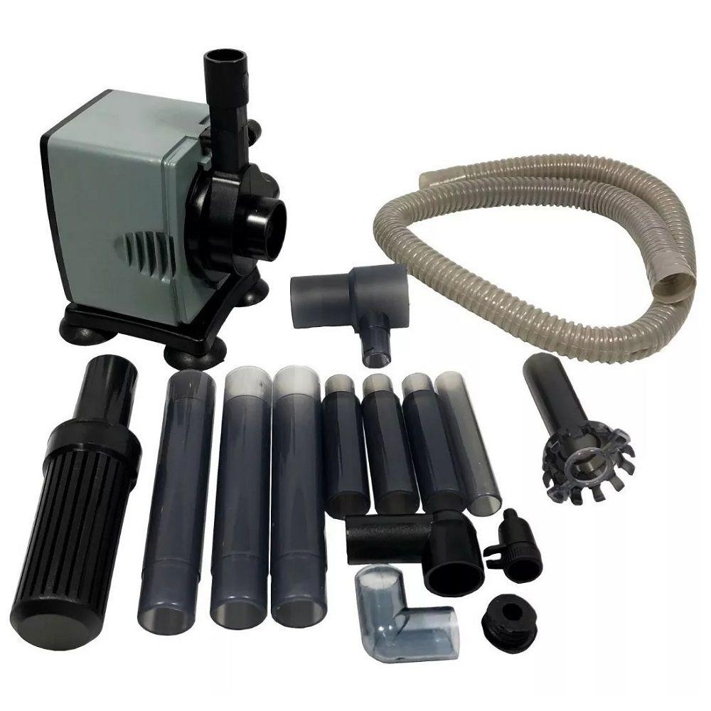 Bomba Submersa Com Filtro Jeneca IPF-2000 1200 L/h