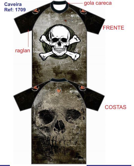 Camiseta By Aventura Caveira