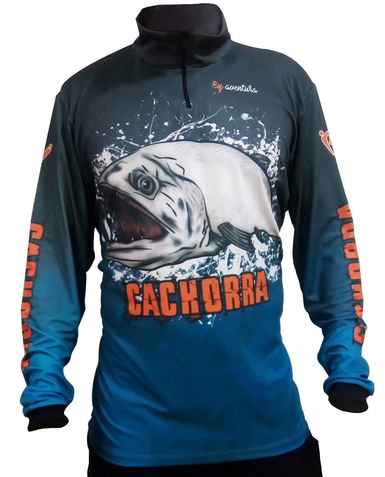 Camiseta de Pesca By Aventura Cachorra