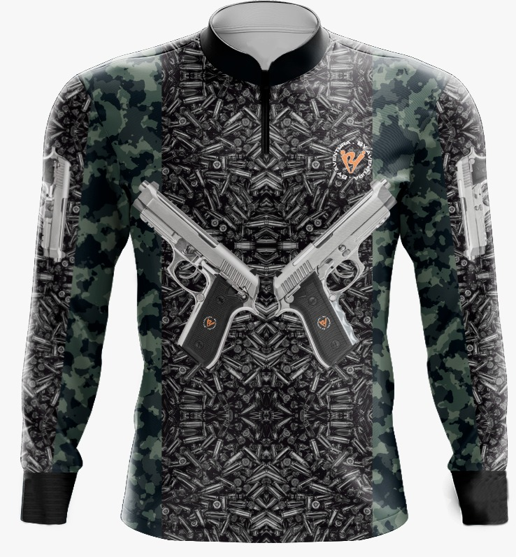 Camiseta de Pesca By Aventura Camu Armas - Ref.2109
