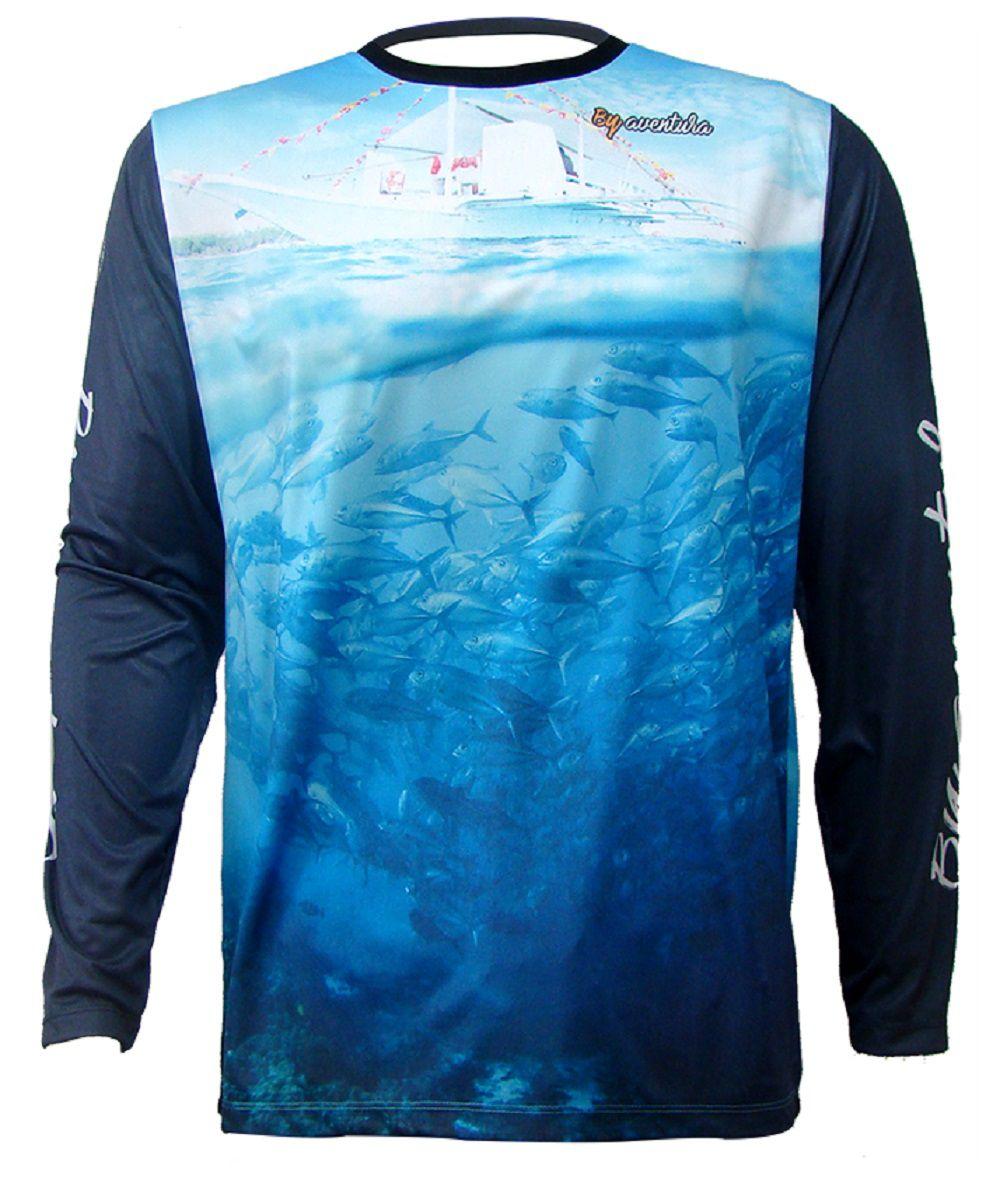 Camiseta De Pesca By Aventura Fishing 1711