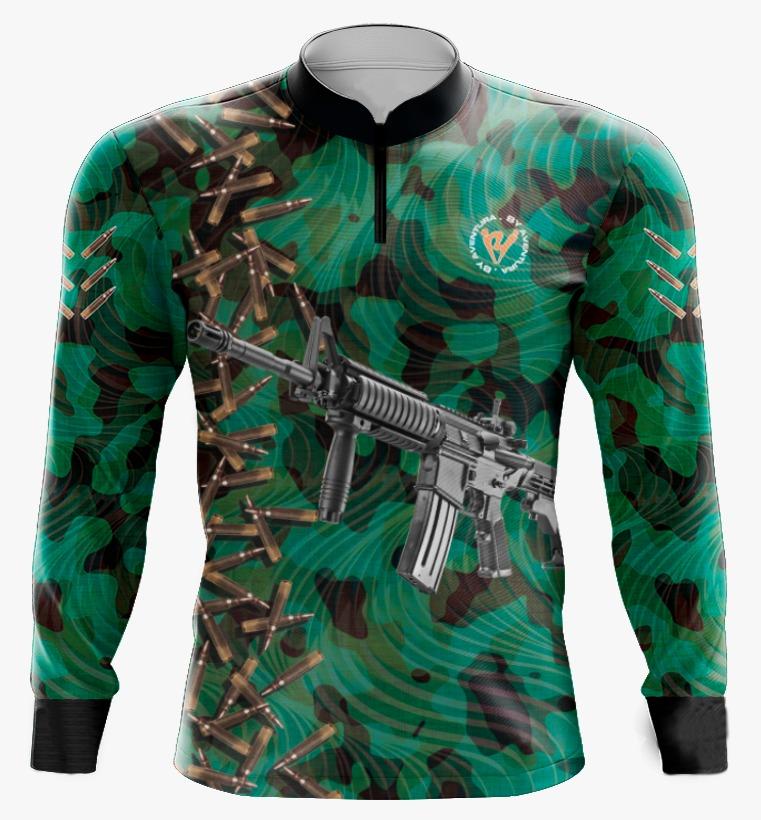 Camiseta de Pesca By Aventura Rifle - Ref. 2108
