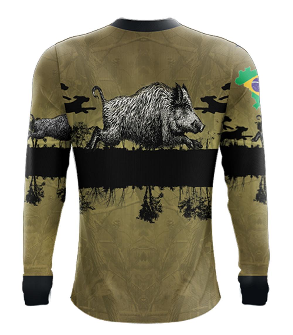 Camiseta de Pesca Dog Hunter By Aventura - 2014