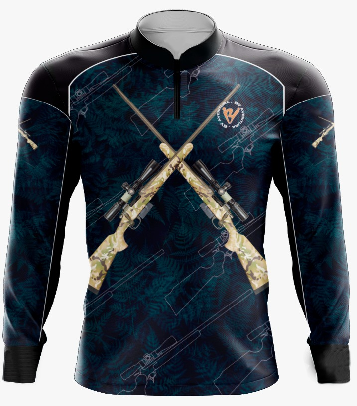 Camiseta de Pesca Espingarda By Aventura - Ref. 2112