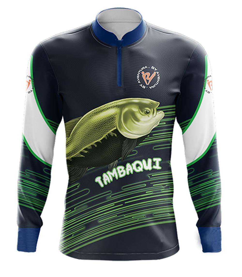 Camiseta de Pesca Tambaqui By Aventura - 2009
