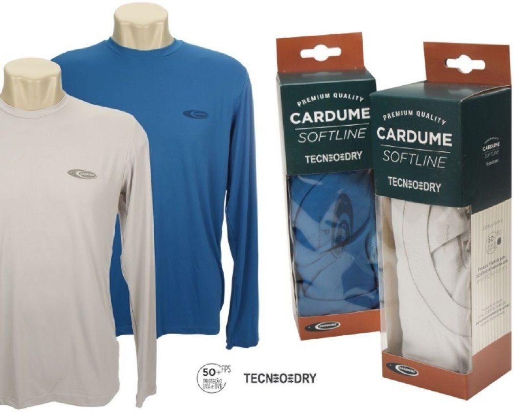 Camiseta Softline Cardume Azul