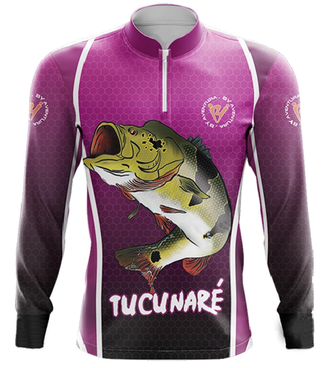 Camiseta Tucunare Fem - By Aventura - Ref.2005