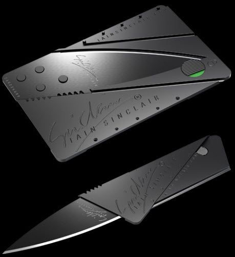 Canivete Dobrável Cartão Iain Sinclair KP-1