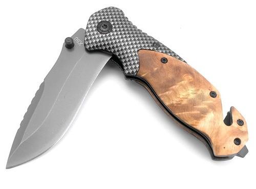 Canivete Cabo Em Madeira Customizada