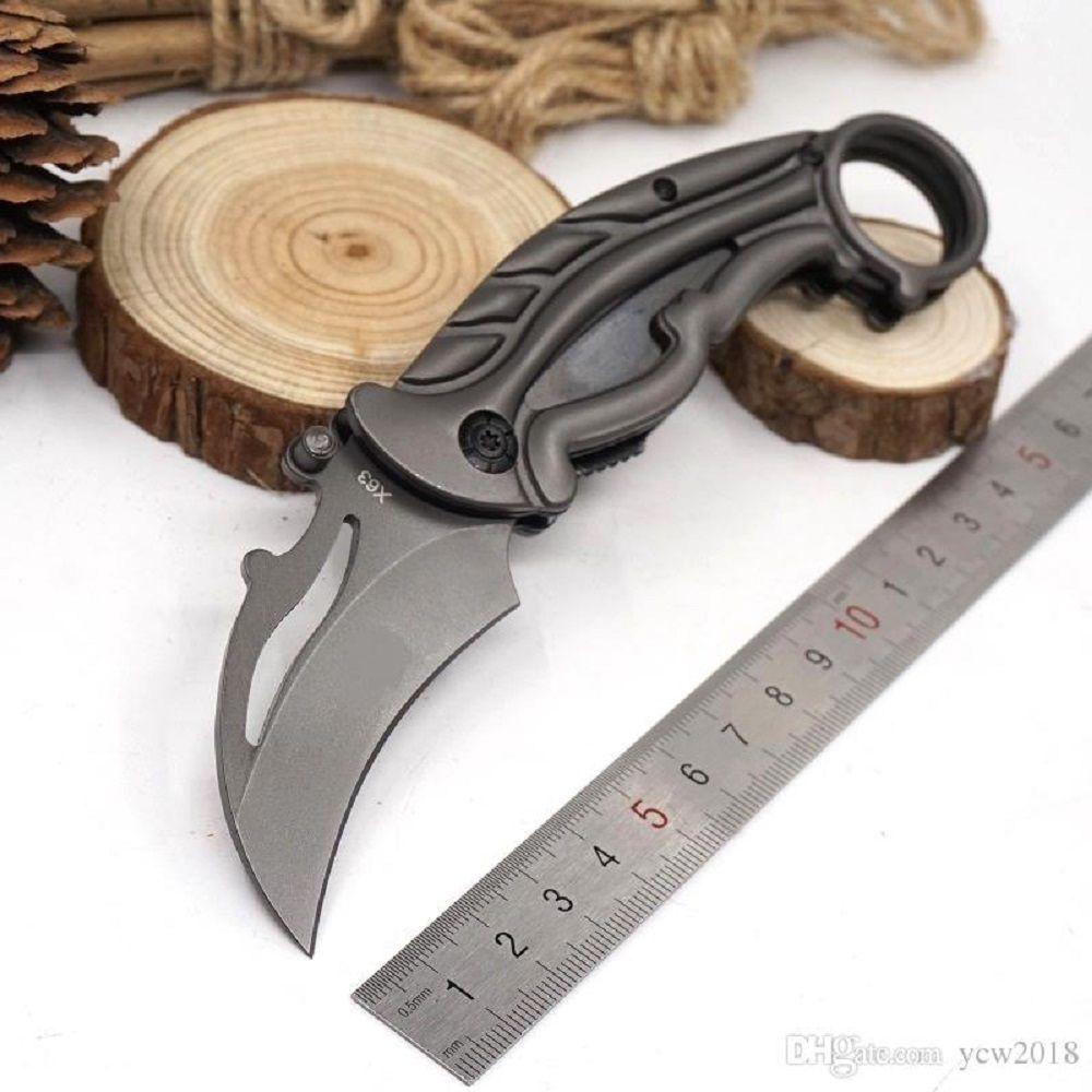 Canivete Karambit X63 Inox
