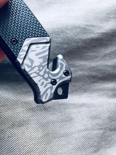 Canivete Tático Semi Automatico