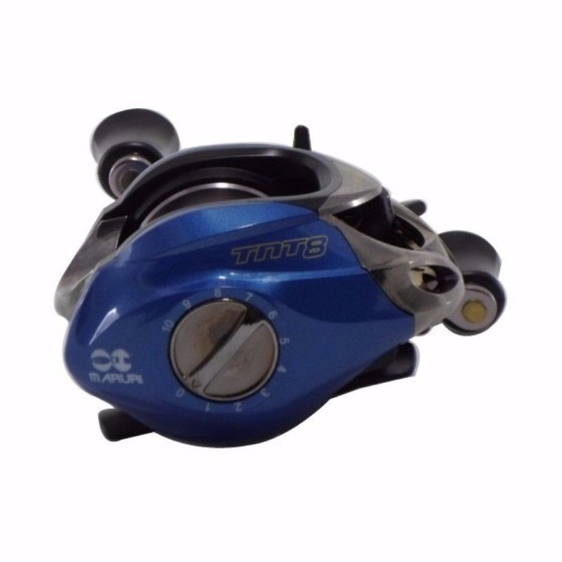 Carretilha Maruri TNT 8000 7.0:1 Azul Direita Esquerda