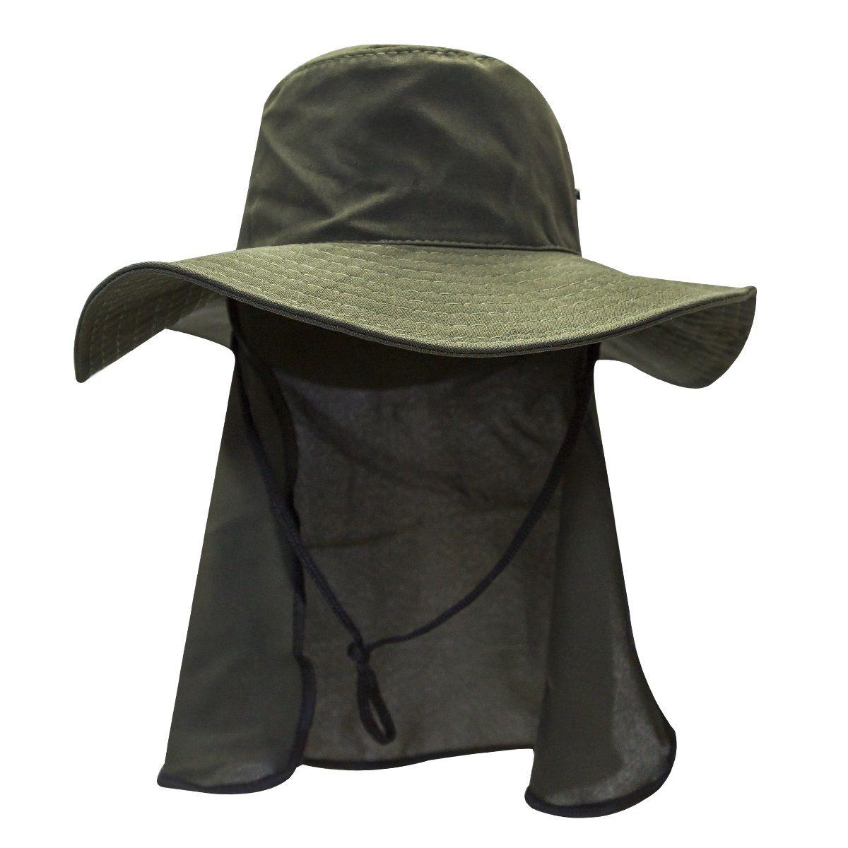 Chapéu com Proteção Pescoço