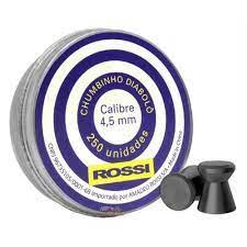 Chumbinho Rossi Diabolo 4,5 mm - 250 UN