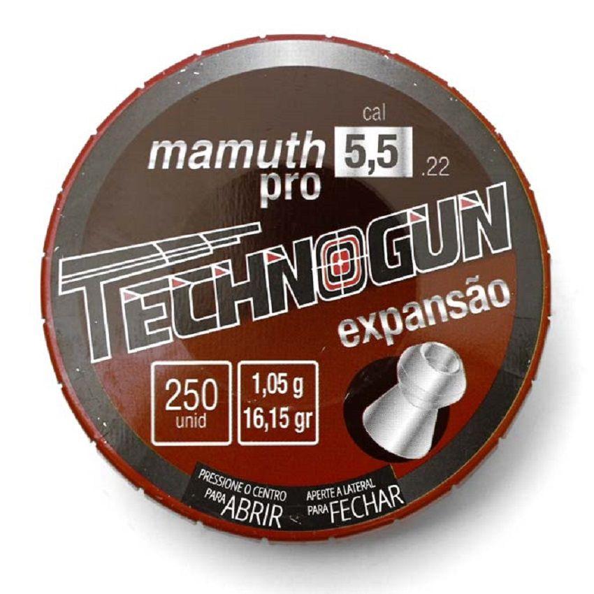 Chumbinho Technogun Mamuth 5.5 mm