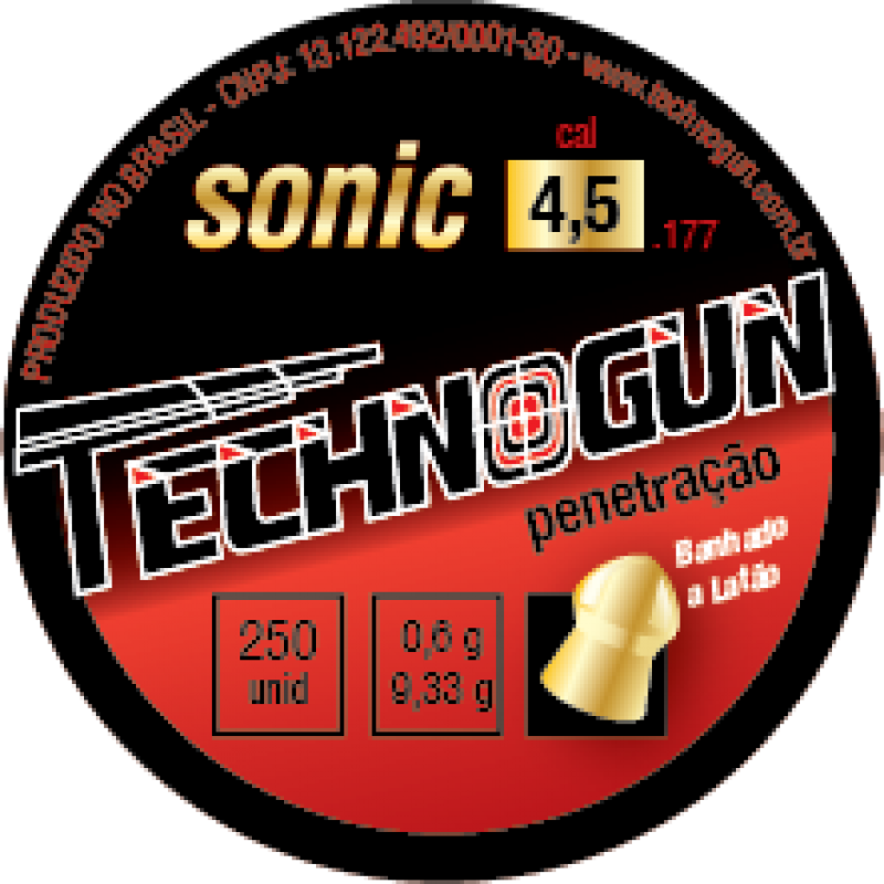 Chumbinho Technogun Sonic Gold 4.5mm