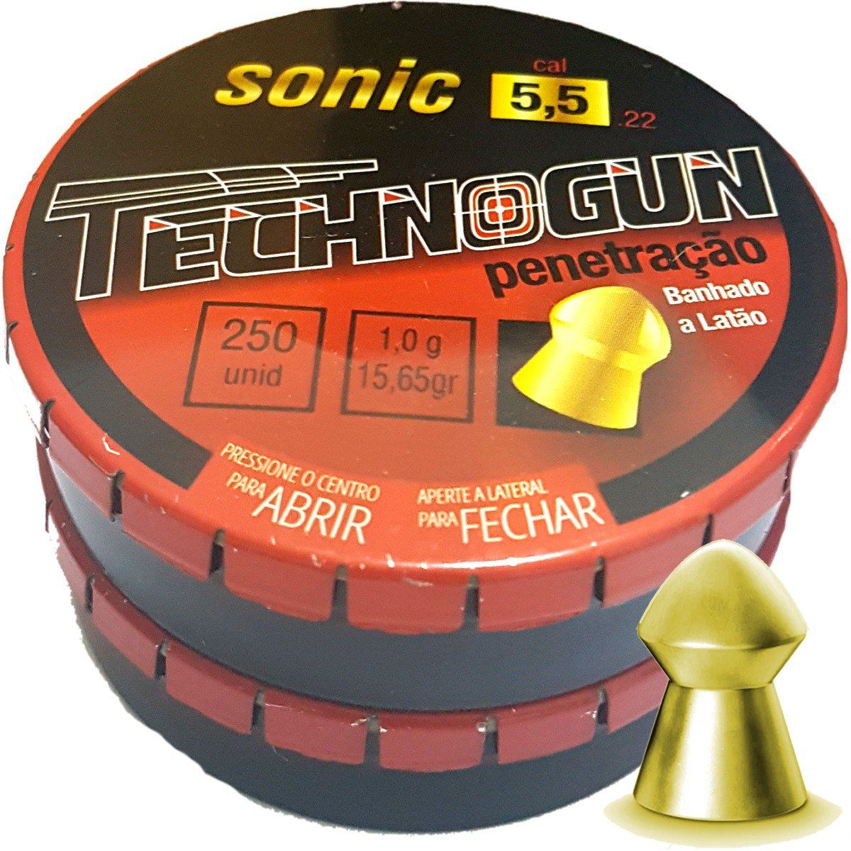 Chumbinho Technogun Sonic Gold 5.5mm