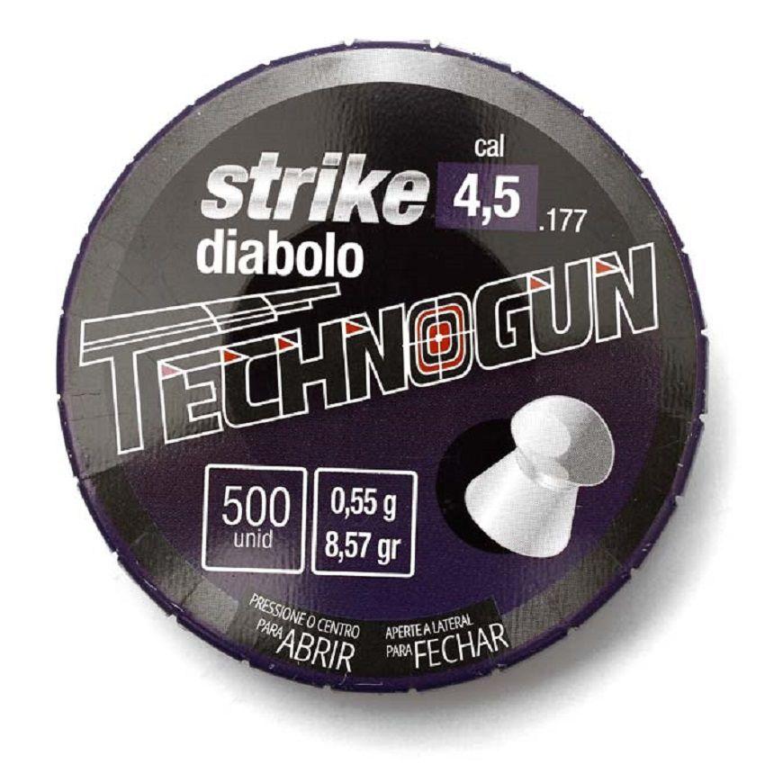 Chumbinho Technogun Strike Diabolo 4.5mm