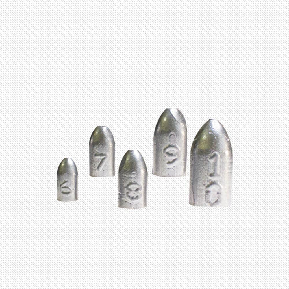 Chumbo Bullet para Iscas Soft