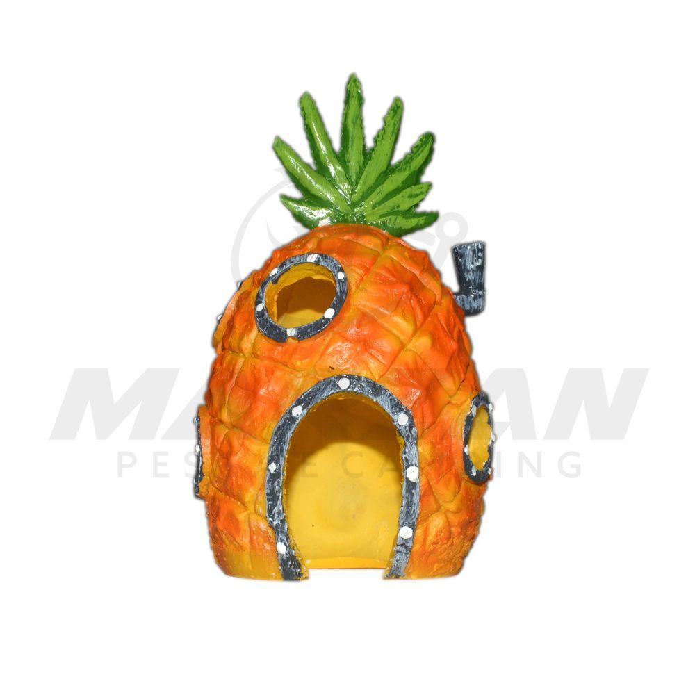 Enfeite Para Aquário Bob Esponja Com Abacaxi