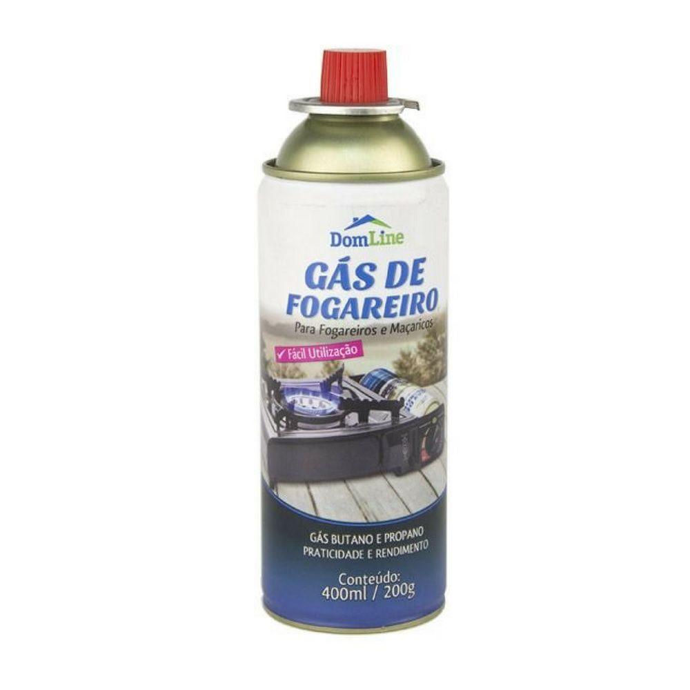 Gás De Fogareiro Dom Line 400mL
