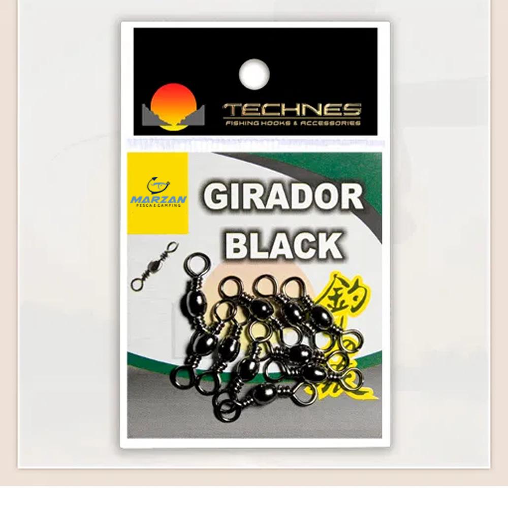 GIRADOR BLACK TECHNES