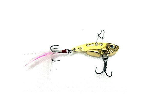 Isca Artificial Sun Fishing Sagui Vib 4cm
