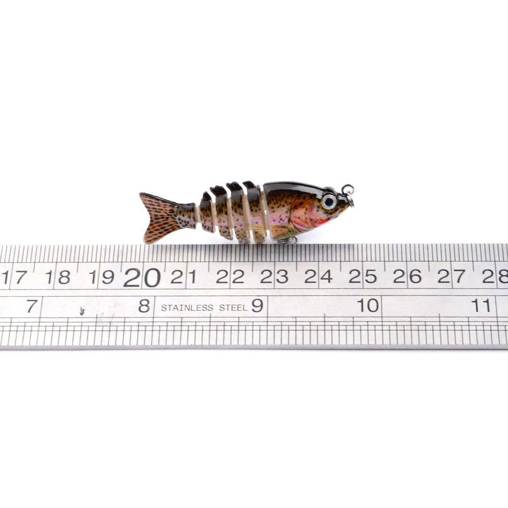 Isca Mini Lambari Articulado 5 cm