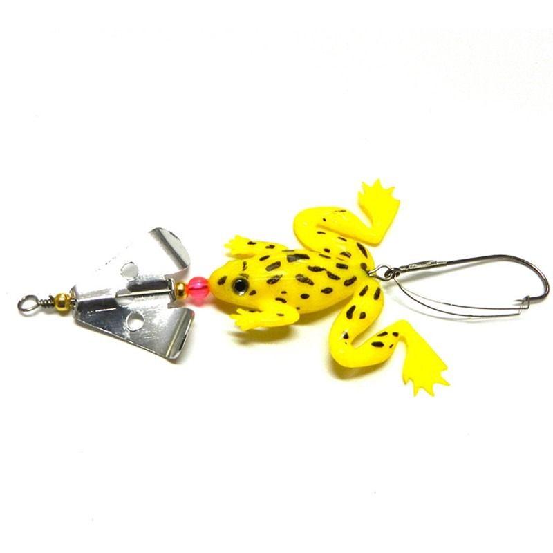 Isca Artificial Frog Rã  Encastoado com Hélice